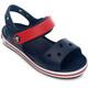 Crocs Crocband Sandalen Kinderen rood/blauw